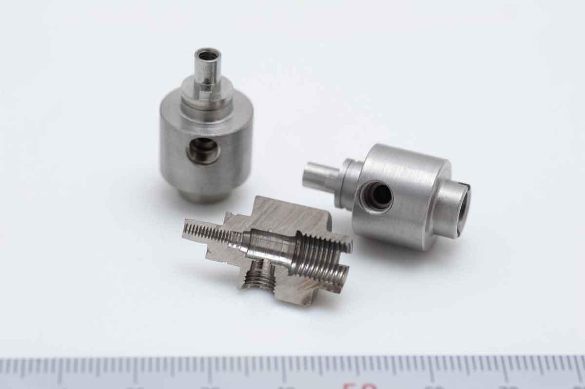 複雑形状・高精度加工サンプル品1